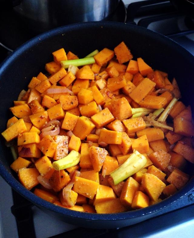 Curried Pumpkin