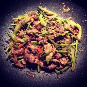 Garlic Pepper Beef Stir Fry2